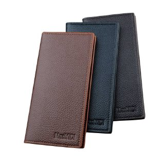 High Quality Leather Long Wallet for Men