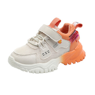 Girls' tennis shoes new children's sports shoes mesh breathable boys' running shoes JX0419 YY-290