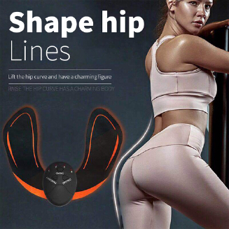 Dstore Smart Beauty Hip Instrument Mini Battery Hips Massage Instrument Stickers Buttock Lifting Muscle Weight Los Beauty Body