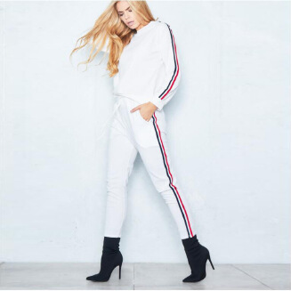 European and American style female casual  sports suit