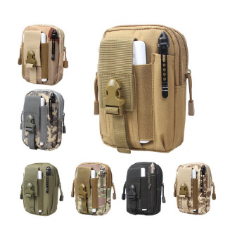 Military fans' tactical hanging bag outdoor camouflage tactics waist bag change accessory bag sports mobile phone bag EDC accessory bag