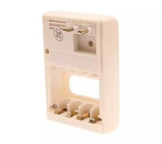 Rechargeable battery with charger white