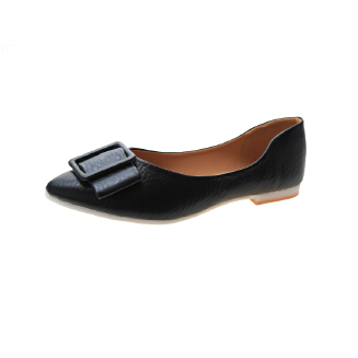 Women's shoes flat heel soft bottom peas shoes comfortable working work shoes egg roll shoes JX0424 986