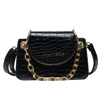 The new net red wild slung autumn and winter atmosphere France niche crocodile pattern bag JX0922 627