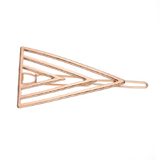 European and American Jewelry New wish Amazon express eBay popular size geometry triangle hairpin wholesale