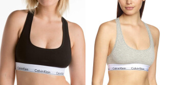 Cotton Sports Bralette Set (Black And Grey) Premium Quality