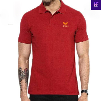 Premium Quality Orange Color Polo Shirt