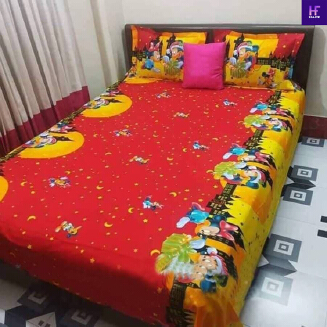 China cotton bedsheet
