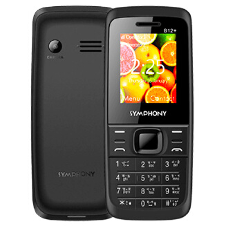 Symphony B12+ Feature Phone Lyseliv