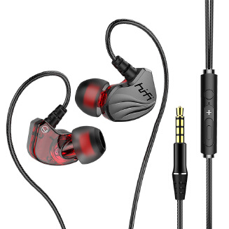 Gaming In-ear Earphones with Microphone Stereo Bass Earbuds for Mobile Phone PS4 Computer and Notebook
