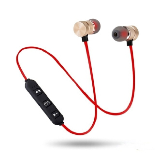Neckband New Wireless XT6 Bluetooth Earphone Sports Magnetic Headset Stereo With Mic For All Phones