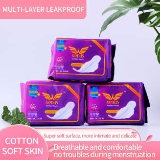VENUS SANITARY NAPKIN: SUPER THIN - 10 Pads - All day Use - Soft cotton surface,Natural water-soluble EID Women