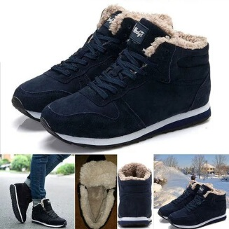 Autumn and winter Europe and America with flat-bottomed sports boots couple cotton boots JX0425 1007601266761020