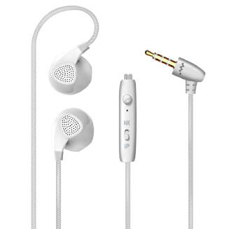 In-Ear 3.5mm Stereo Wired Bass Headset with Microphone Earphone for iPhone Android