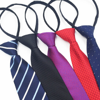 OFFER TIE Men's 8CM zip tie business suit