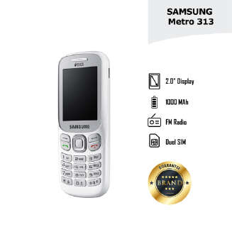 Samsung Metro 313 - Feature Phone - FP19 DS20