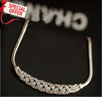 D61310  -FD BIG SALE OFFER Jewelry Female Short Gold Chain Pendant Necklace tp0416 EID Jewelry 0512 PFLNKS FD0818