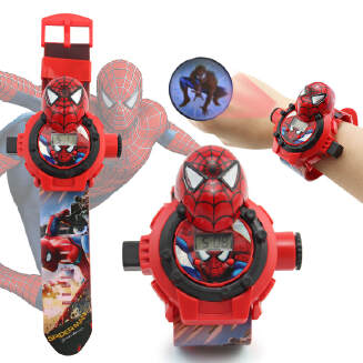 Children's cartoon 3D projection watch puzzle animation electronic toy 24 projection JX0601 363-16A