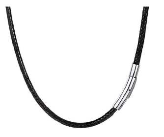 Stainless steel thin edge snap wax rope necklace rope lanyard pendant rope JX0905 038