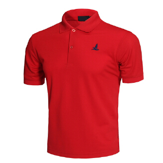 Men Short Sleeve Shirts Solid Color Lapel Collar Casual Tops for Daily Sports Wearing