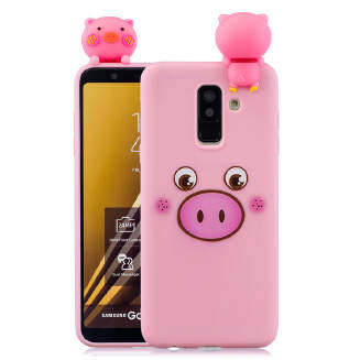 For Huawei P20 pro 3D Cartoon Lovely Coloured Painted Soft TPU Back Cover Non-slip Shockproof Full Protective Case