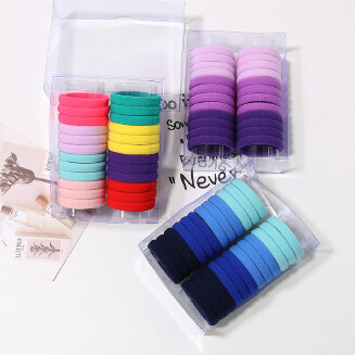 RAMADAN WEEKLY OFFER Children's fashion Candy color seamless high elastic towel ring hair ring rope rubber band JX0317N5-10 EID Kids JX0601 PF03X FD0818 TP0416