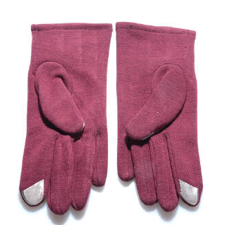 Women Winter Outdoor Thick Warm Wool Gloves Mobile Phone Touch Screen Gloves