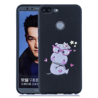 For OPPO F7 Cartoon Lovely Coloured Painted Soft TPU Back Cover Non-slip Shockproof Full Protective Case with Lanyard