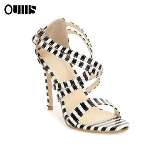 One word fish mouth stiletto high heel women's shoes White