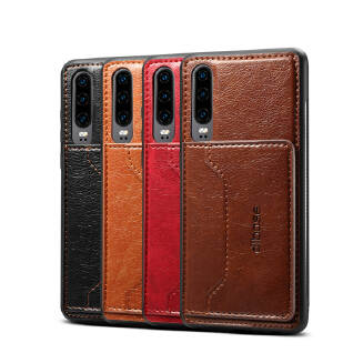 For Samsung A50 Retro PU Leather Wallet Card Holder Stand Non-slip Shockproof Cell Phone Case