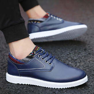 Men's non-slip tooling shoes spring and summer new men's shoes British casual shoes wild trend waterproof work shoes jx0425 F58
