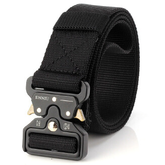 Men's Belt Fashion Belt - Black