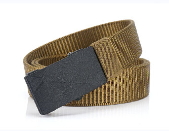 Nylon Men's Belt Fashion Belt - Brown