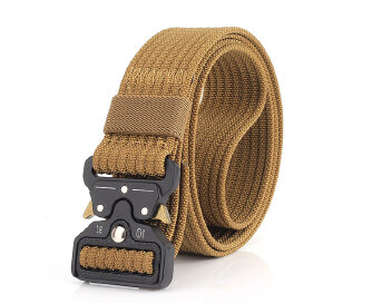 Sports Men's Belt Fashion Belt outdoor - Brown