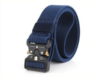 Sports Men's Belt Fashion Belt outdoor - Blue