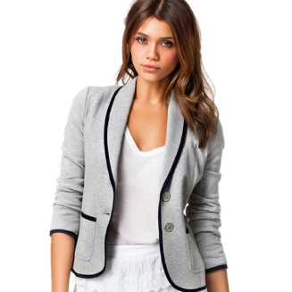 Explosion models women's casual wild fashion slim slimming European and American small suit jacket female JX1008 0172