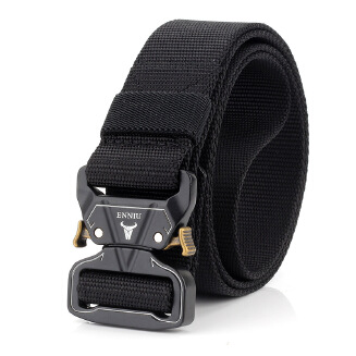 Men's outer belt - Black