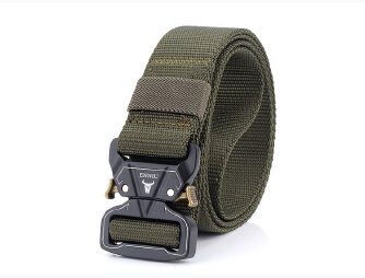 Outer Men's Belt Fashion Belt - Green