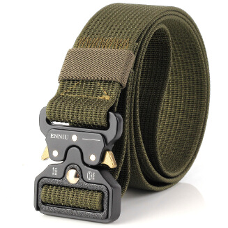 Nylon Men's Belt Fashion Belt outdoor - Green