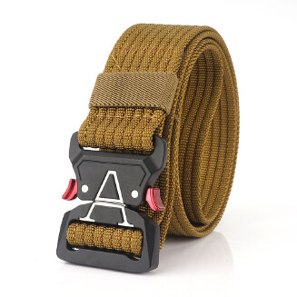 Men's belt belt - Brown