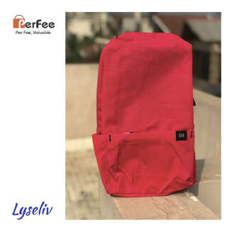 Original XiaoMi MI Colorful Mini Backpack - MI - Bag - 100% Authentic Backpack -Lyseliv HS19 MIBD fanday BD20