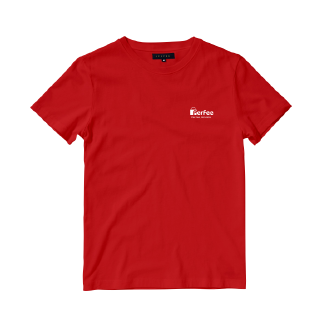 Perfee Red T-Shirt - Black Friday Pre Order Delivery 7-10 days TS0213