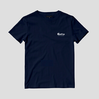 Perfee Dark steel blue T-Shirt - Black Friday Pre Order Delivery 7-10 days TS0213