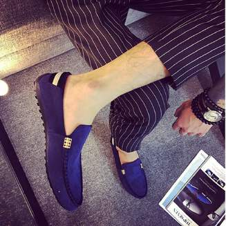 Slip-on breathable casual men's shoes JX0425 039