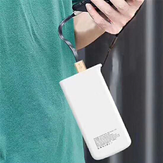 VPX A23 powerbank - Two-way fast charge - 12000mAh Polymer A+ Grade Batteries -D04761