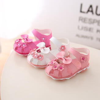 YYTX Real picture New children's wild princess shoes non-slip soft bottom baby toddler shoes JX0419 B02B03-Y EID Kids