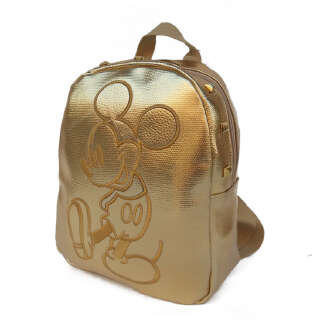 Children's backpack Mickey cartoon backpack-Gold