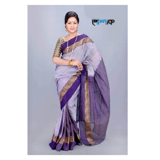 Maslice Cotton Saree - TB-364 - POSHAK