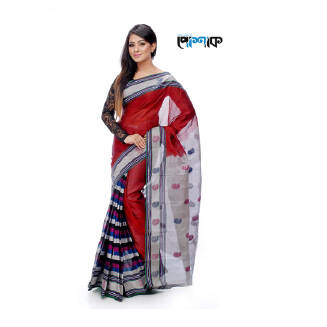 Maslice Cotton Saree - TB-392 - POSHAK