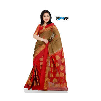Maslice Cotton Saree - TB-466 - POSHAK